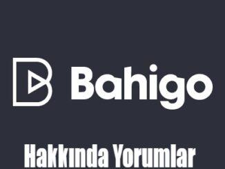 Bahigo Hakkında Yorumlar