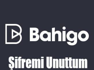 Bahigo Şifremi Unuttum